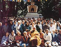 Course led by Geshe Lhundrup Sopa at Vajrapani Institute, USA, 1991